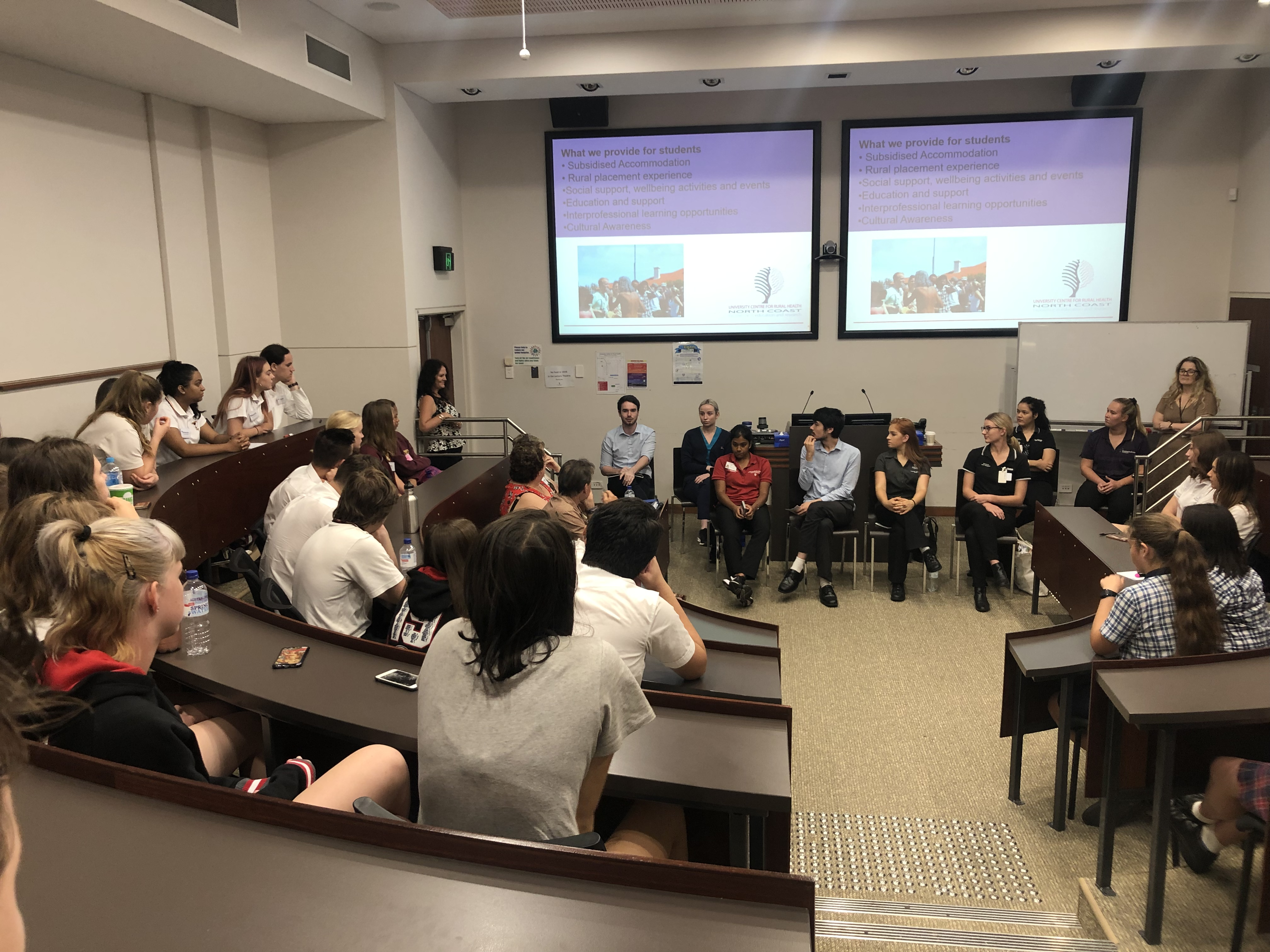 Health Professional Day 2018 Uni Students Panel